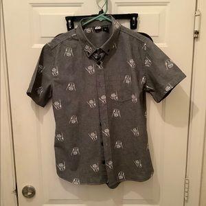 Men's small Star Wars Vader polo shirt